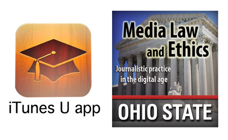 Joining the iTunes U Revolution with Media Law & Ethics