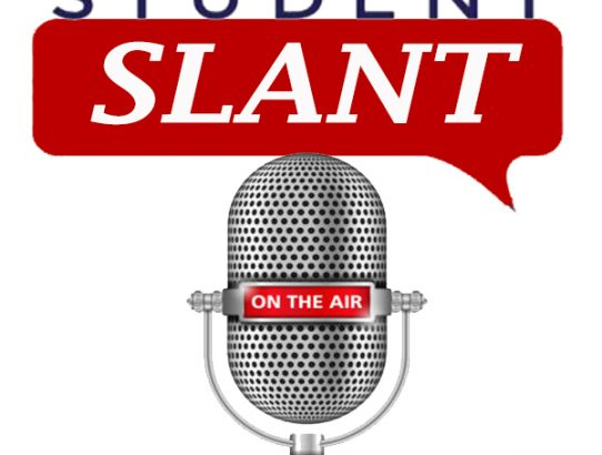 "Read, set podcast: Welcome ""Student Slant"""