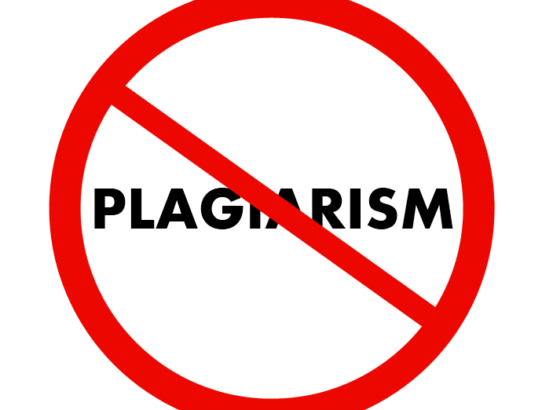 Plagiarism: It's worth talking about